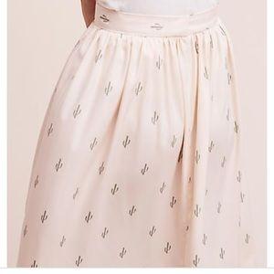Anthropologie Cactus Skirt 🌵